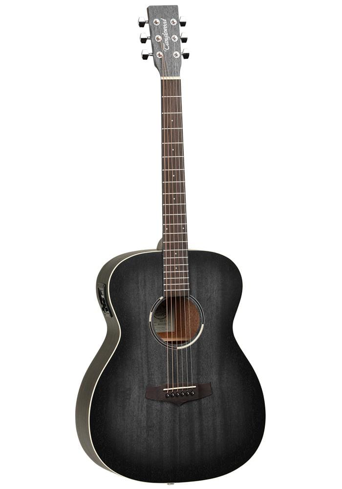 Guitar Crazy Tanglewood Black Bird Series Orchestra Electro Acoustic Guitar