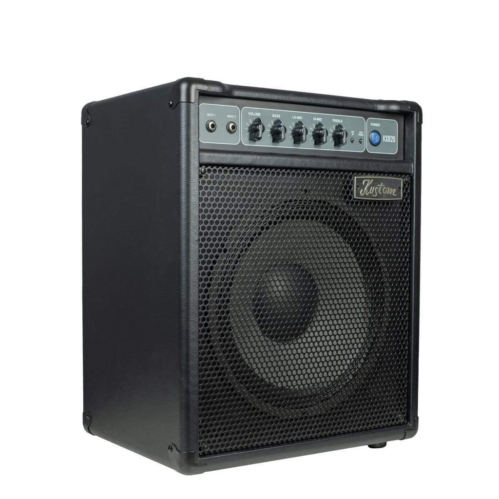 "Buy Kustom KXB Series Bass Amp 1 x 12"" with 4 Band EQ ~ 20W at Guitar Crazy"