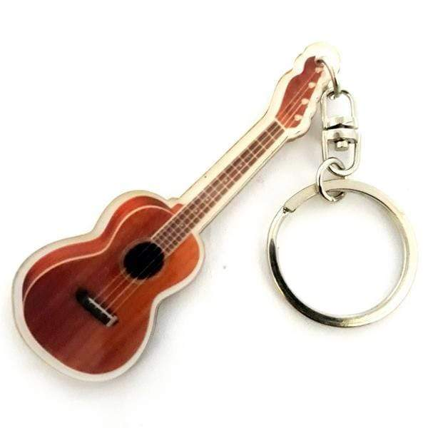 MUSIC LEGENDS GIFTS Ukulele Acrylic Keyring