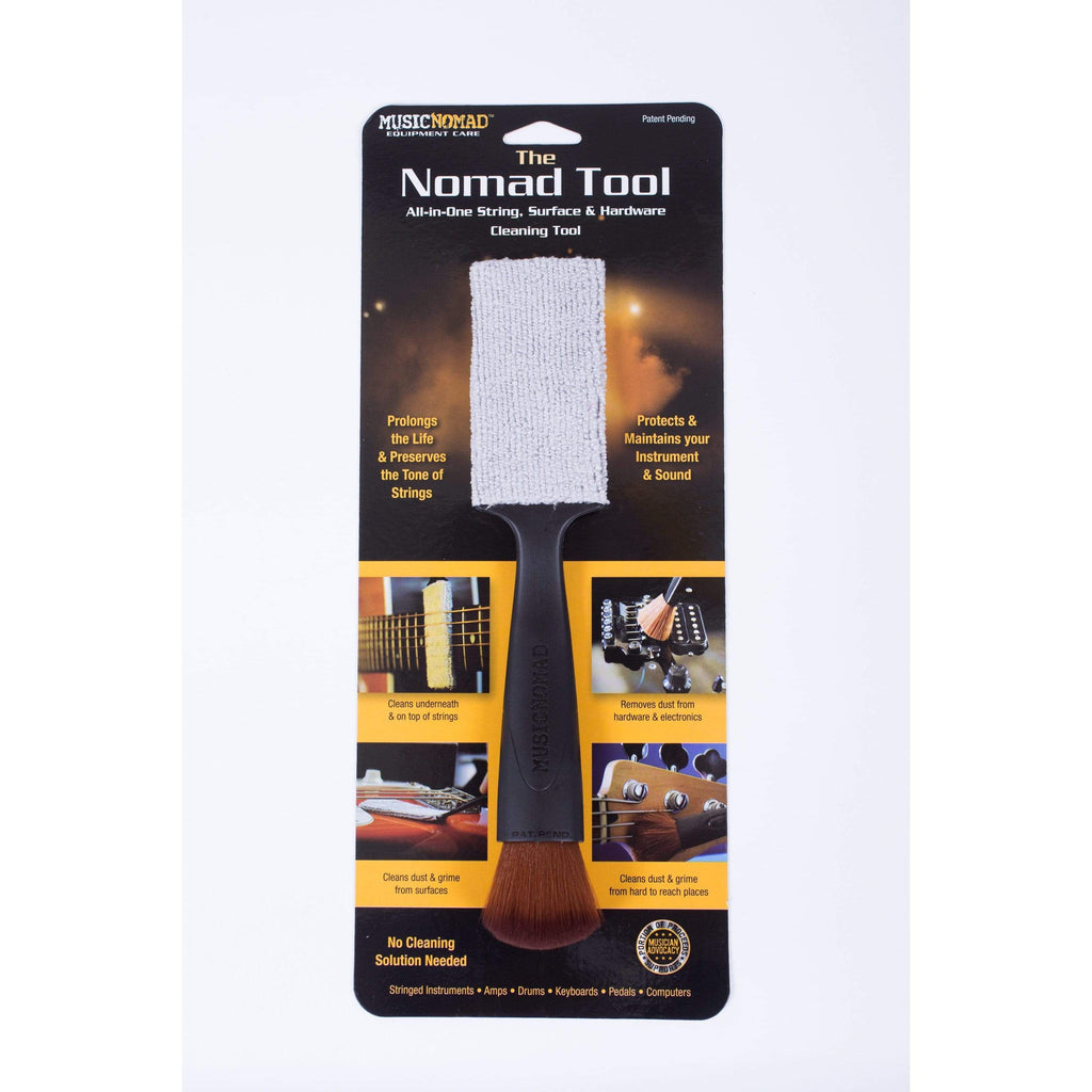 MUSIC NOMAD MAINTENANCE MusicNomad The Nomad String, Body & Hardware Cleaner
