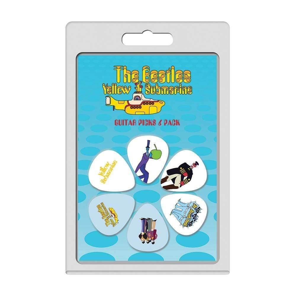 Buy Perri's 6 Pick Pack ~ The Beatles Yellow Submarine at Guitar Crazy