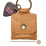 Buy Pick Pouch Company New York Light Brown Pick Holder at Guitar Crazy