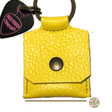 Buy Pick Pouch Company New York Yellow Pick Holder at Guitar Crazy