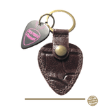 Buy Pick Pouch Company San Francisco Croco Brown Pick Holder at Guitar Crazy