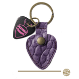 Buy Pick Pouch Company San Francisco Croco Purple Pick Holder at Guitar Crazy