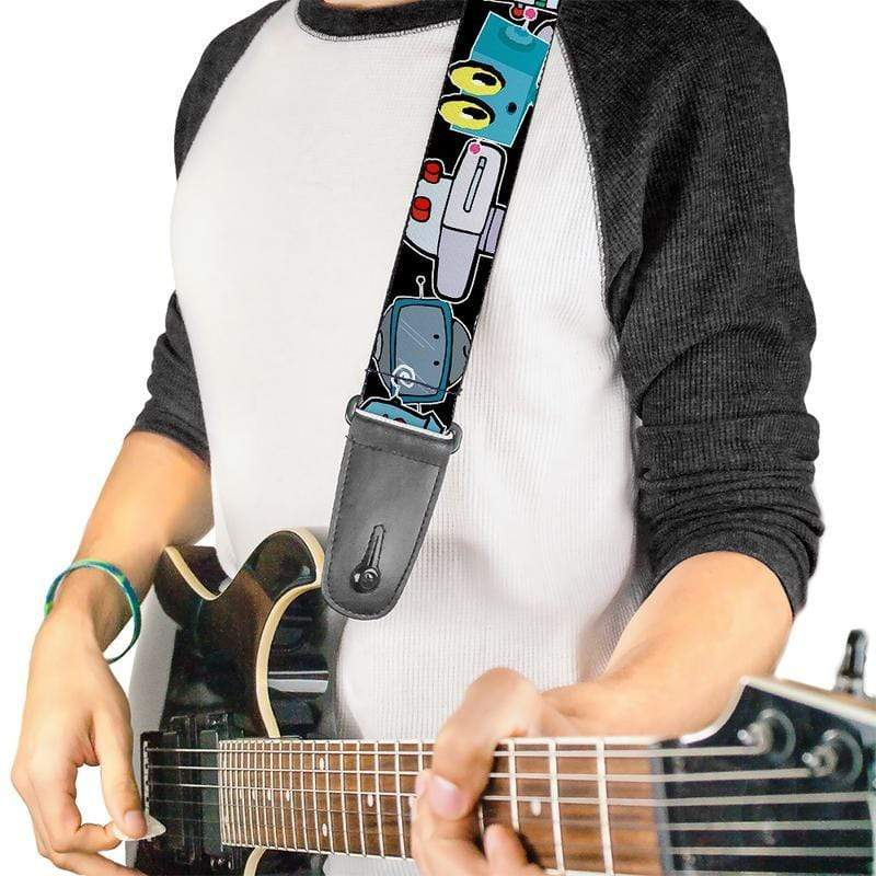 Buy Robots Guitar Strap By Buckle Down at Guitar Crazy