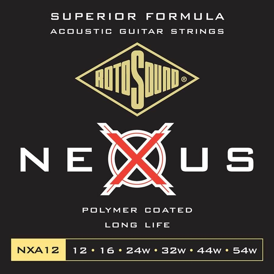 ROTOSOUND STRINGS Rotosound Nexus Coated 10 Gauge Acoustic Guitar Strings
