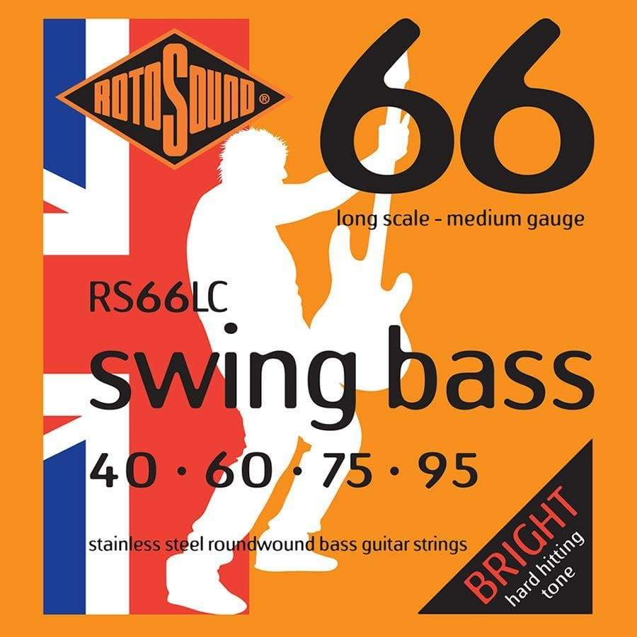 Rotosound STRINGS Rotosound Swing Bass RS66LC  Electric Bass Strings 40-95