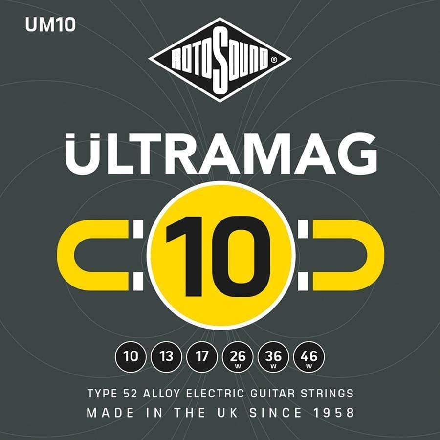 Rotosound STRINGS Rotosound Ultra Mag UM10 10 - 46 Gauge Electric Guitar Strings