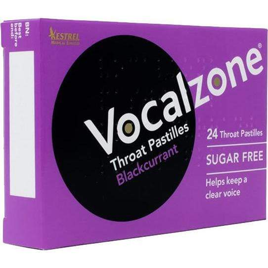 VOCALZONE VOCALZONE Vocalzone Throat Pastilles Blackcurrant