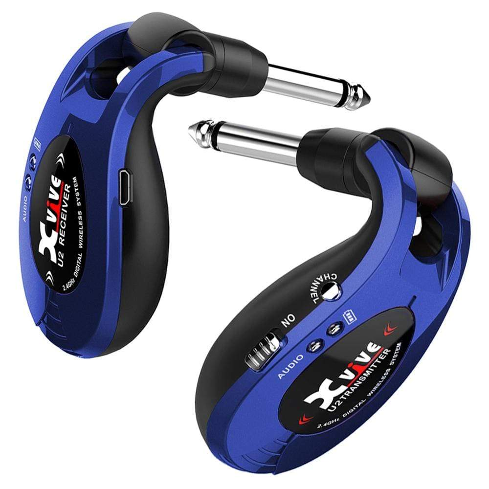 Buy Xvive Wireless Guitar System ~ Blue at Guitar Crazy