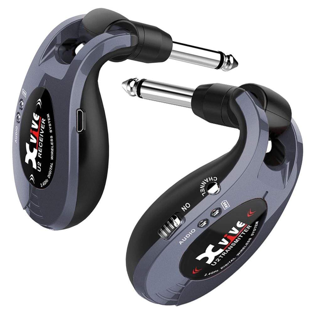Buy Xvive Wireless Guitar System ~ Grey at Guitar Crazy