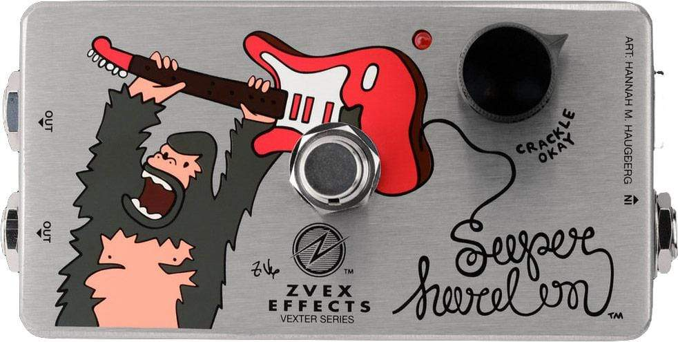 Buy ZVEX Effects Super Hard On Boost Pedal at Guitar Crazy