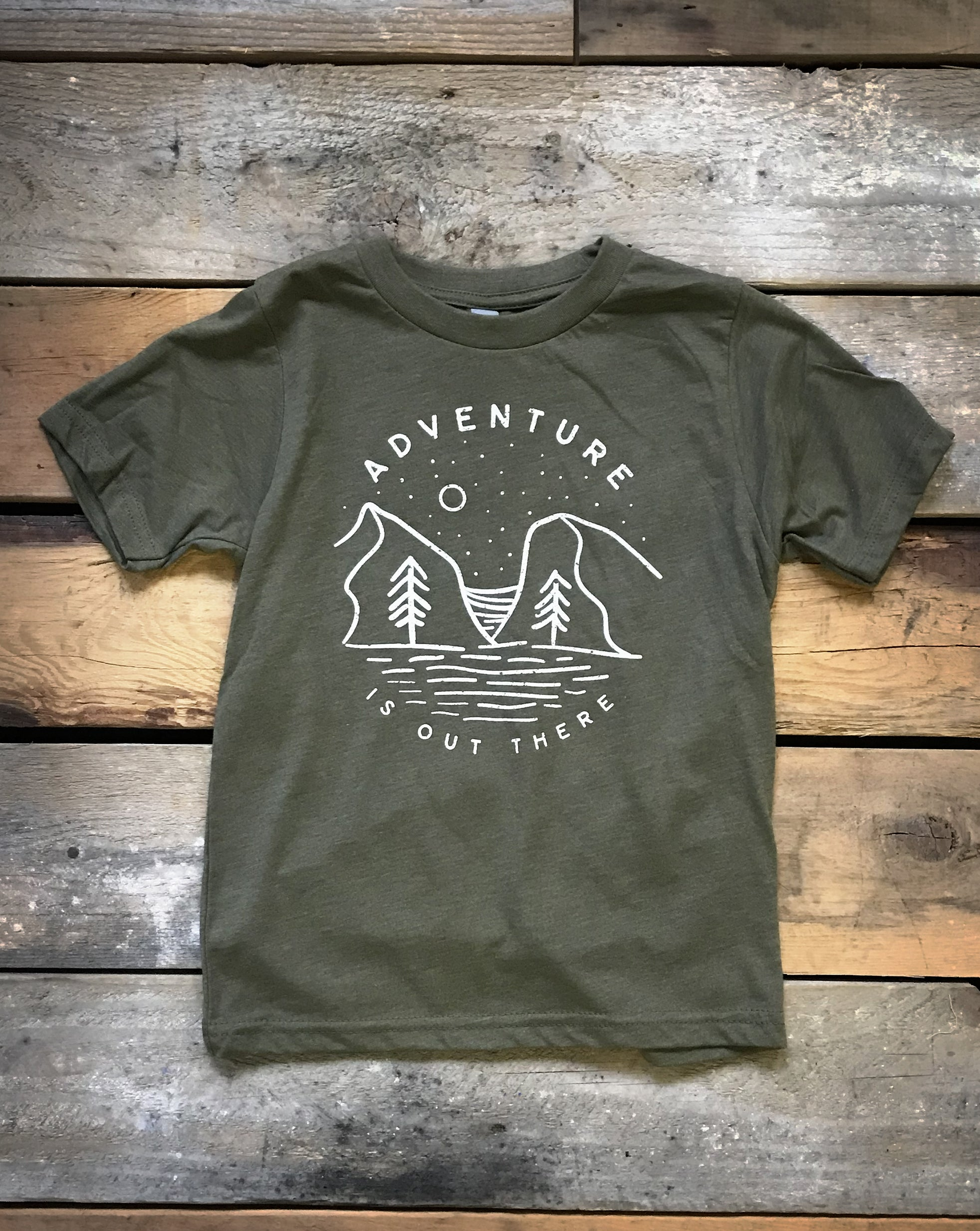 Adventure Out There Youth Shirt