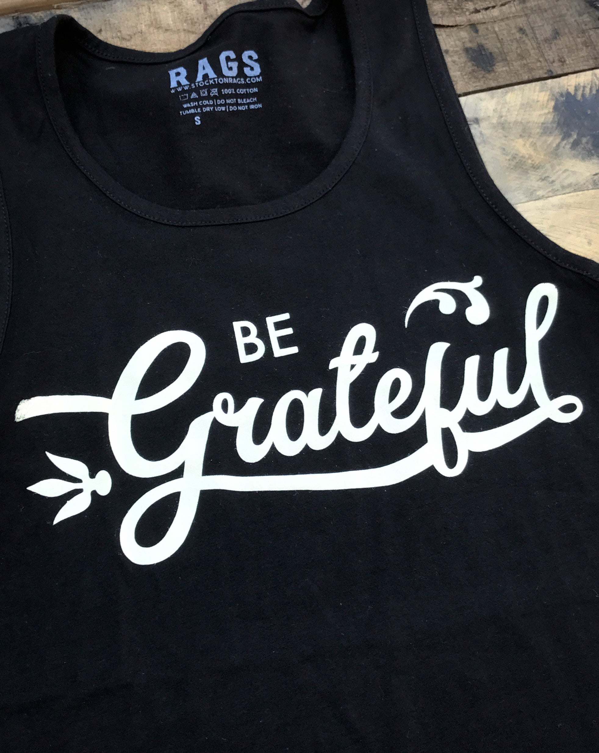 Be Grateful Tank Top