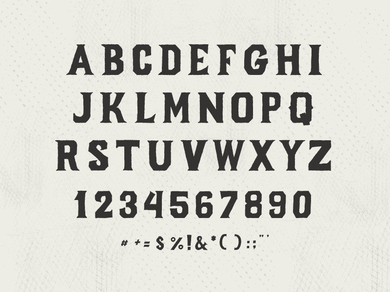 Forge Font