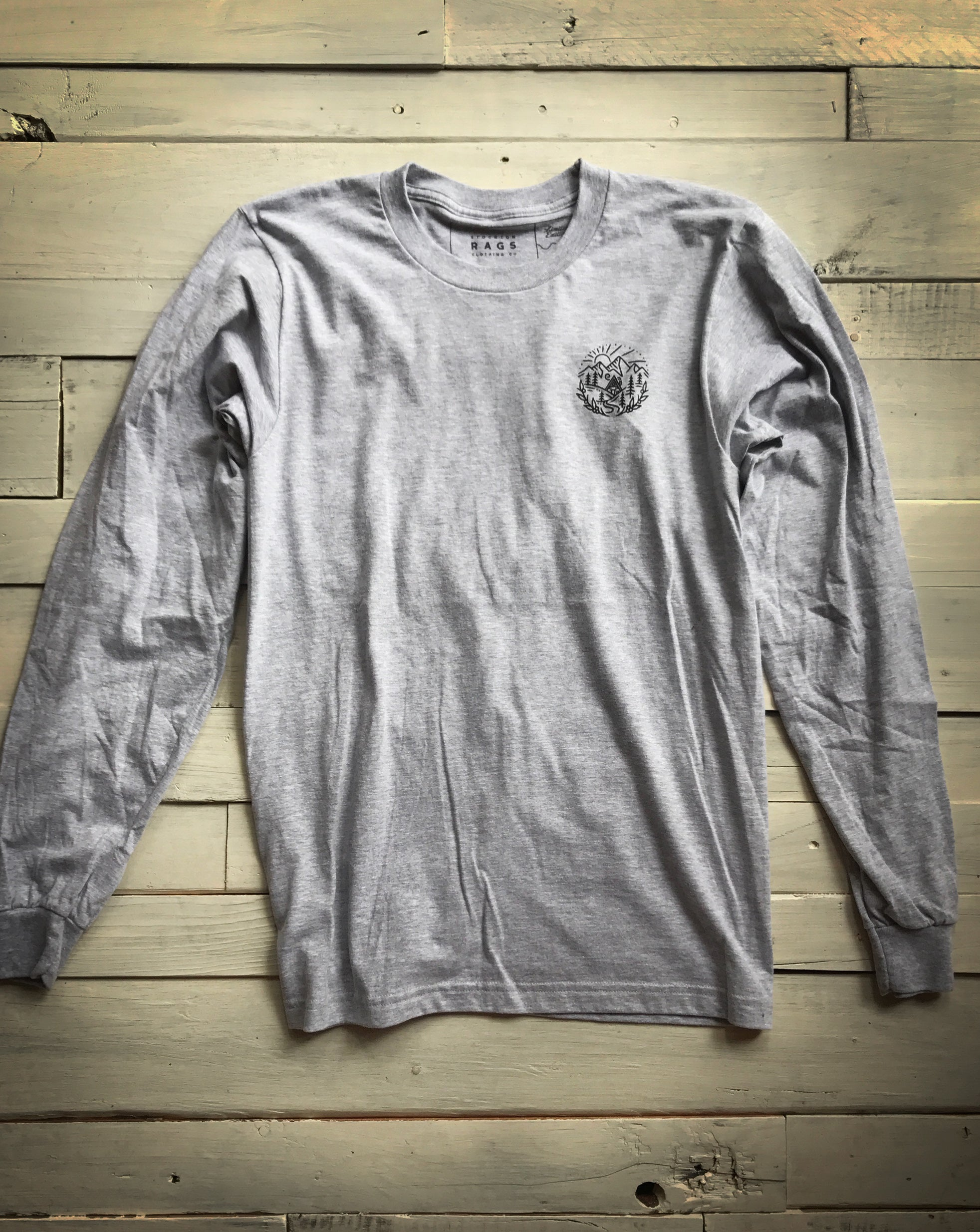 A-Frame Cabin Long-Sleeve