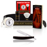 A Vintage Razor with Strop and Shave Set