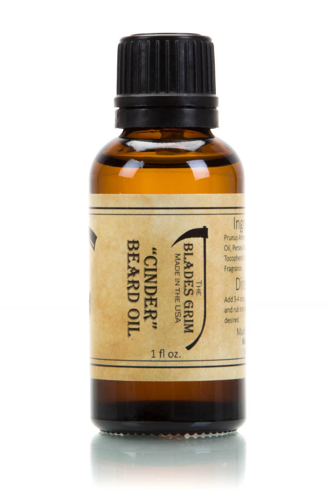 Cinder Beard Oil - By The Blades Grim