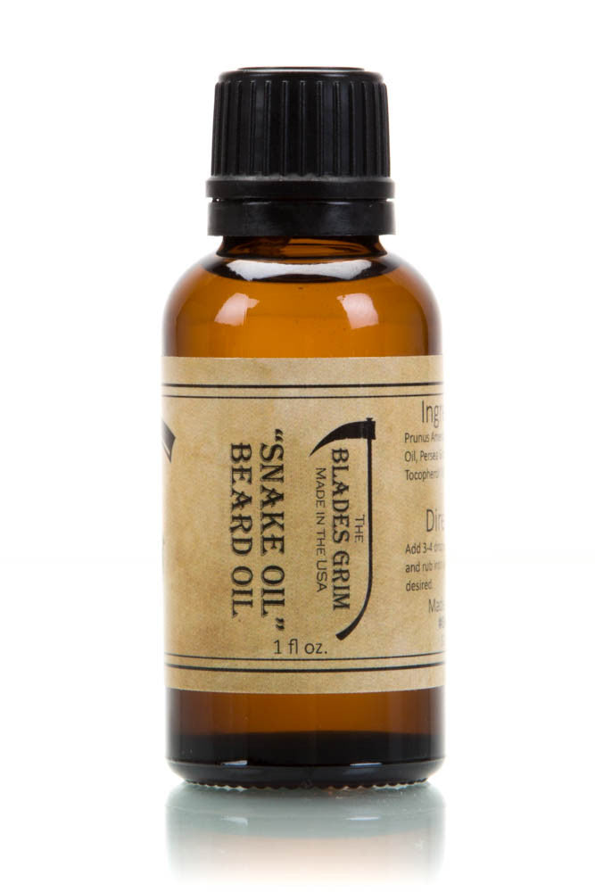 Snake Oil Beard Oil - By The Blades Grim