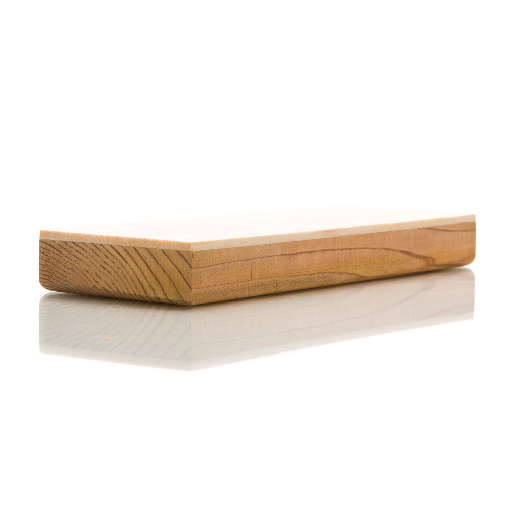 "Two 3"" x 8"" Balsa Wood Strop 2 Pack"