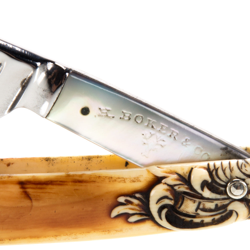 "H. Boker & Co. - ""Mother of Pearl"" Vintage Straight Razor"