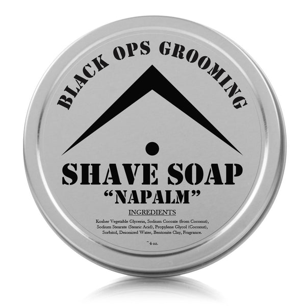 "BOG - Luxury Shaving Soap - ""Napalm"""