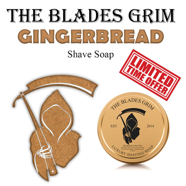 The Blades Grim Gingerbread Shave Soap