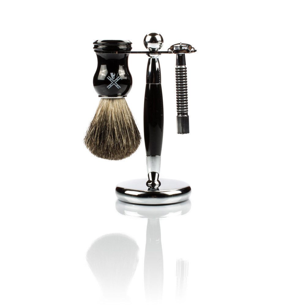 Van Der Hagen Large Safety Razor Shaving Set