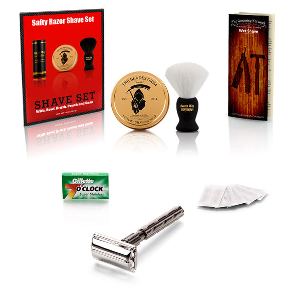 Safety Razor Shave Set