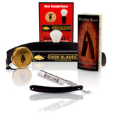 DOVO 6/8 Blades Grim Edition Razor With Luxury Shave Set