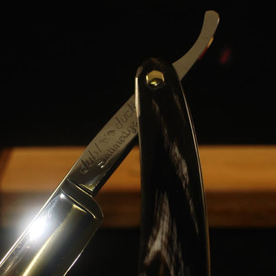 Dubl Duck SatinEdge PearlDuck with Thin Buffalo Horn Scales