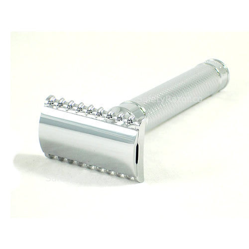 Muhle R41 Grande Chrome Handle Safety Razor Open Comb