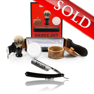 "Thiers Issard 6/8"" Straight Razor and Luxury Set Combo"