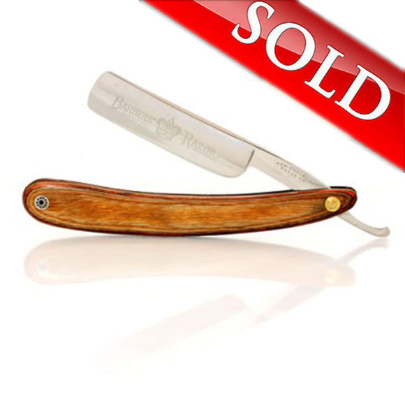 Vintage Straight Razor New England Razor Co. Barbers Razor