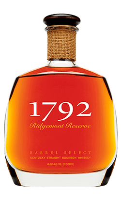 1792 Ridgemont Reserve BARREL SELECT Bourbon 750ml
