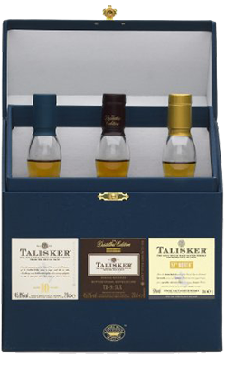 Classic Talisker 3 Pack 10YO/ 57 North/ Dist E 3x200ml