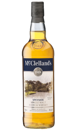 McClellands Speyside Malt Whiskey 700ml