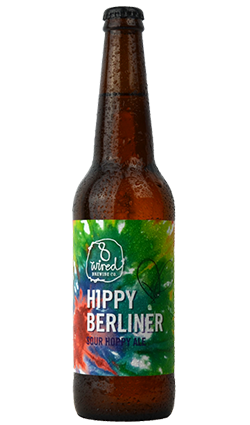 8 Wired Hippy Berliner Sour Hoppy Ale 500ml