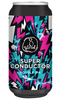 8 Wired Super Conductor Double IPA 440ml Can