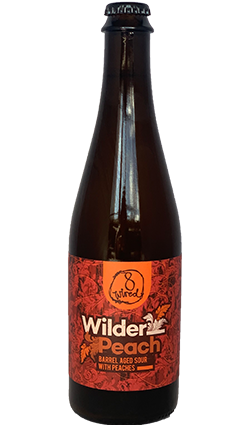 8 Wired Wilder Peach 500ml