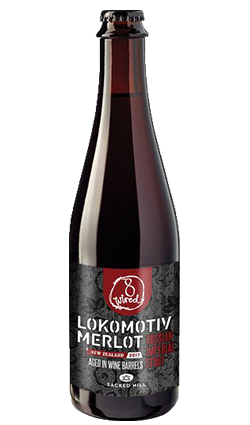 8 Wired Lokomotiv Merlot Russian Imperial Stout 500ml