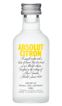 Absolut Citron Miniature 50ml