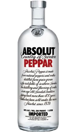 Absolut Peppar 1000ml