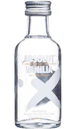 Absolut Vanilla 50ml miniature