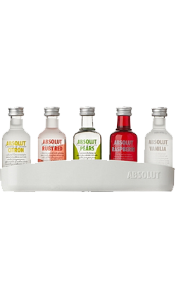 Absolut Vodka miniture 5 pack