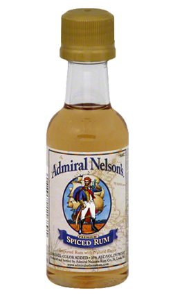 Admiral Nelson Spiced Rum 50ml