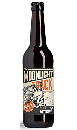 Altitude Moonlight Track Peated Stout 500ml
