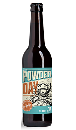 Altitude Powder Day Pilsner 500ml