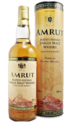 Amrut Peated Whisky Miniature 50ml